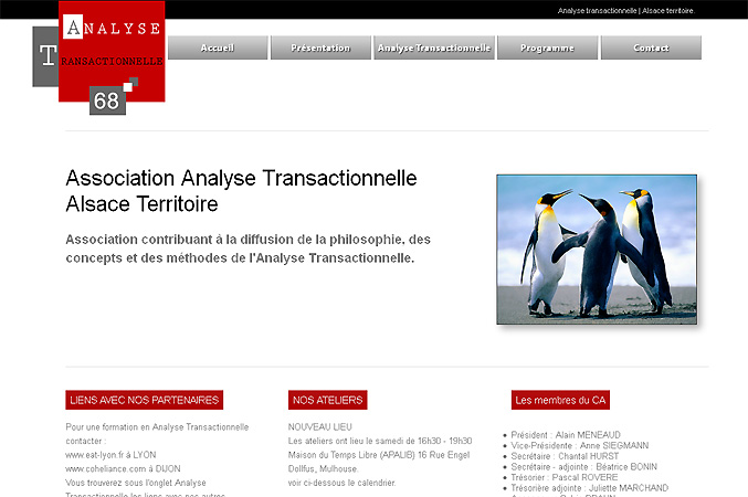 creation de site associatif AT68