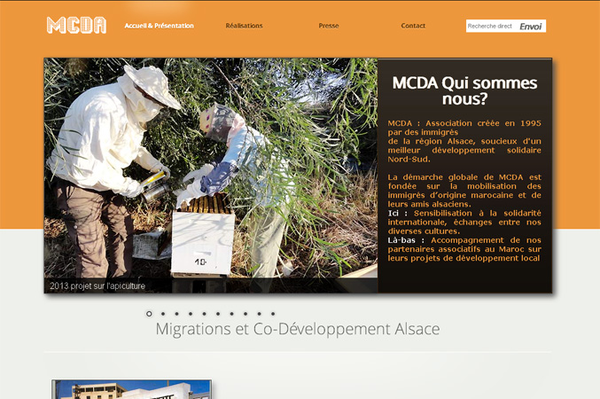 Creation site MCDA
