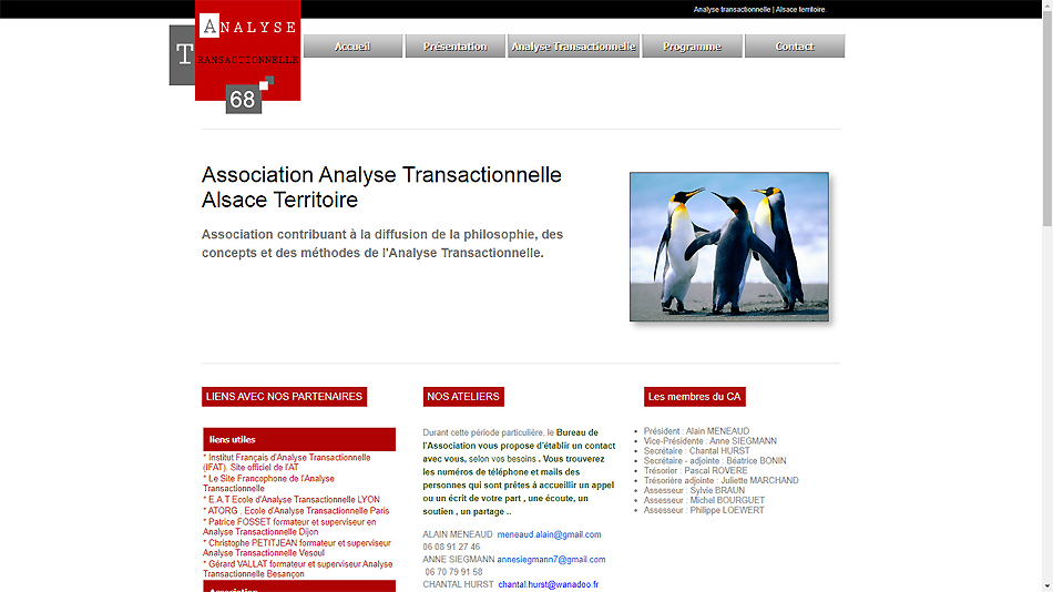 site internet analyse transactionnelle 68