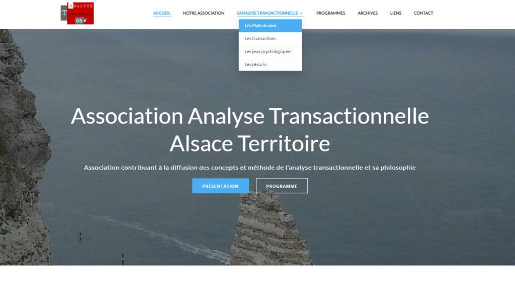 Page d accueil du site analyse transactionnelle 68